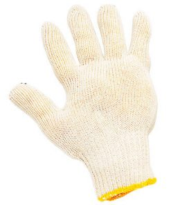 Luva Tricotada 4 fios de algodão