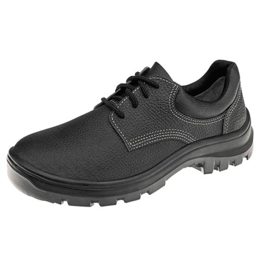 Sapato de segurança 10VS48 confeccionado em couro.    – Marluvas