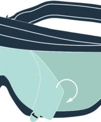 Películas Protetoras para Goggle GALERAS – Delta Plus