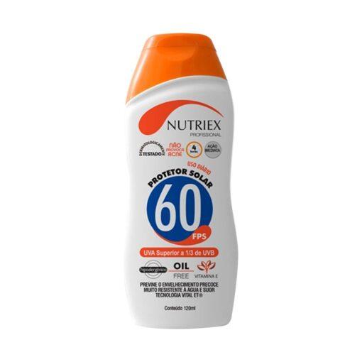 Protetor Solar FPS 60 120ml – Nutriex