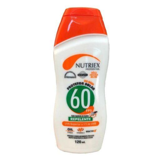 Protetor Solar FPS 60 Repelente 120ml – Nutriex